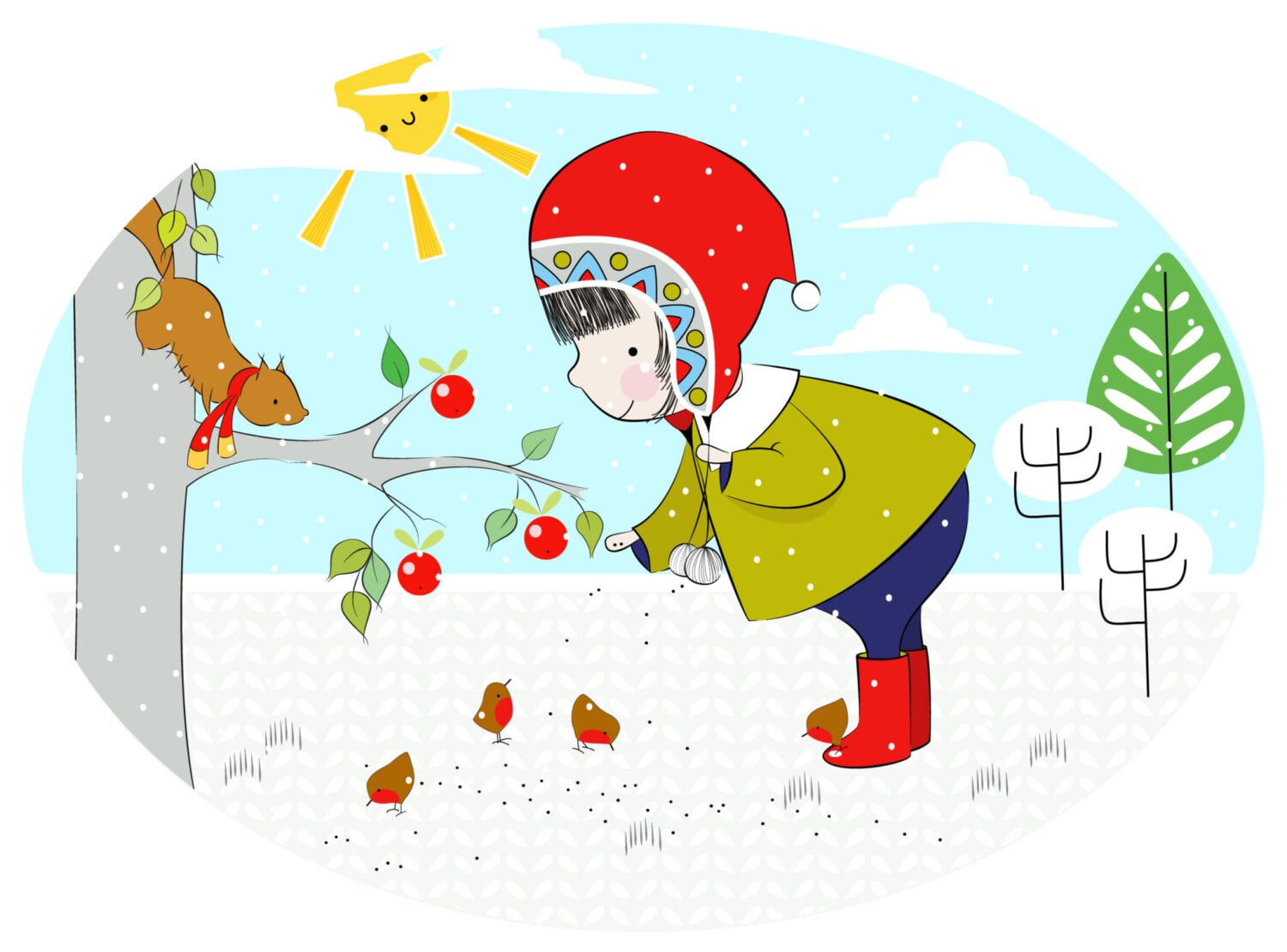 Robins-in-the-Snow-