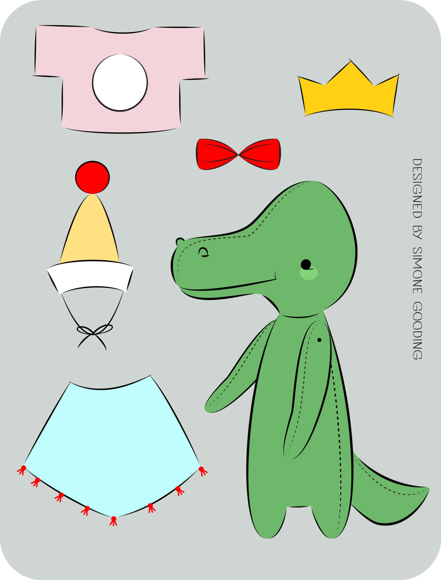 Dress-Up-Crocodile