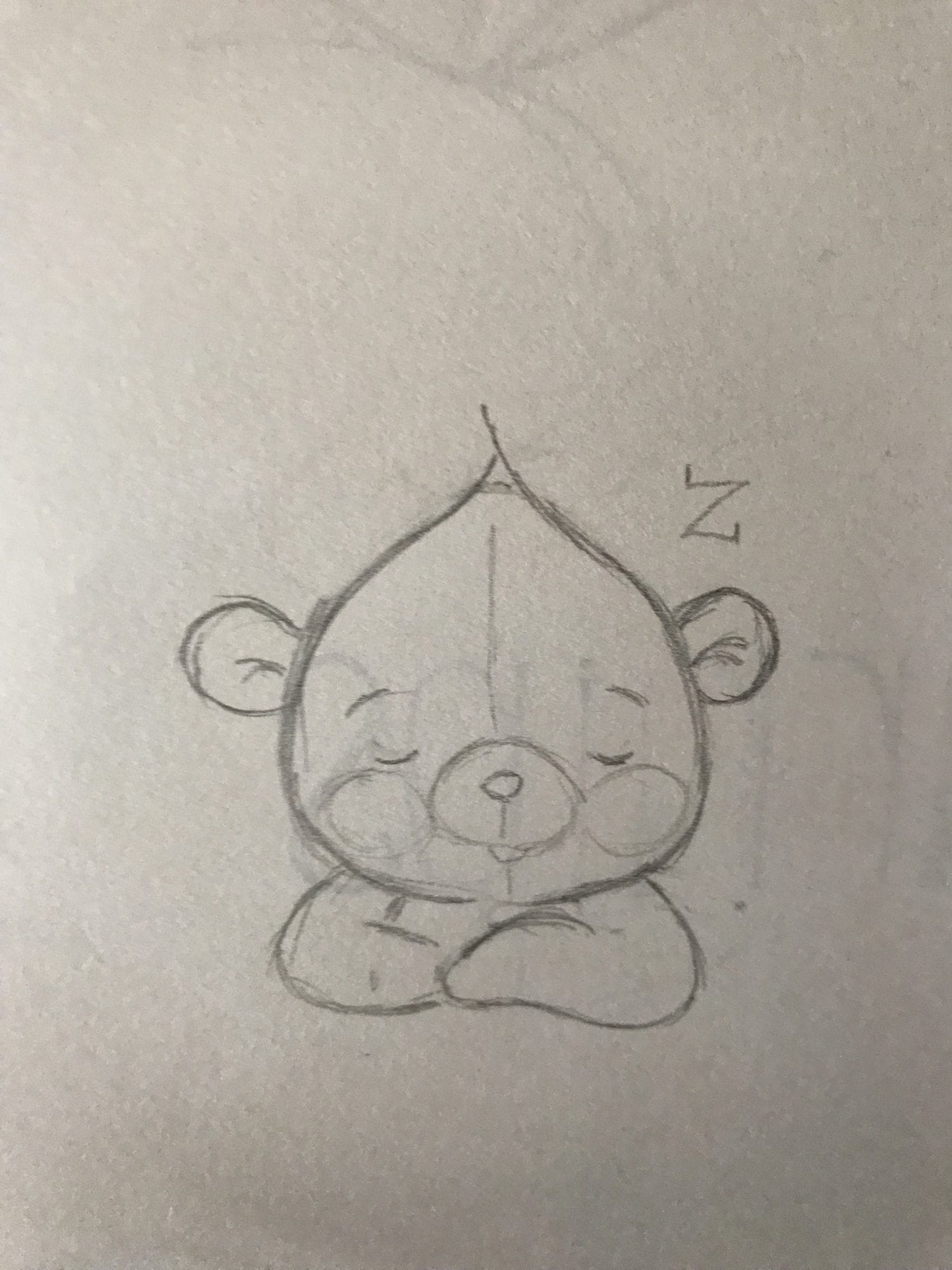Sleepy ZZZ Bear